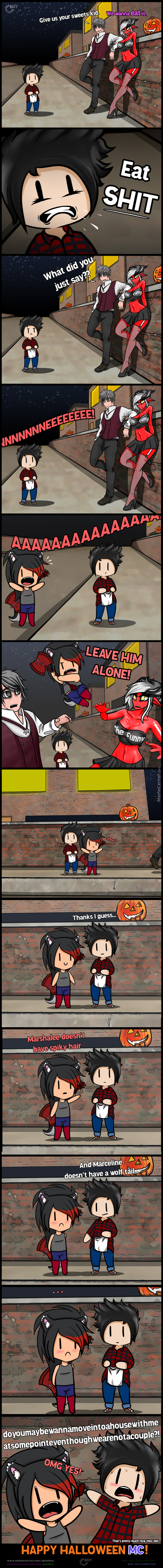 Once Upon A Hal(Lol)Ween...