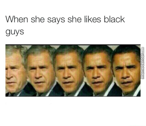 Once You Go Black You Can Never Go Back