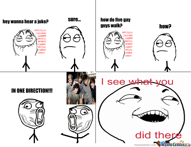 One Direction Gay Joke
