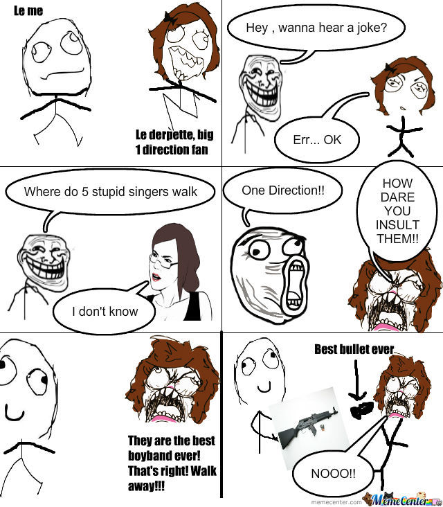 One Direction Suck!!!