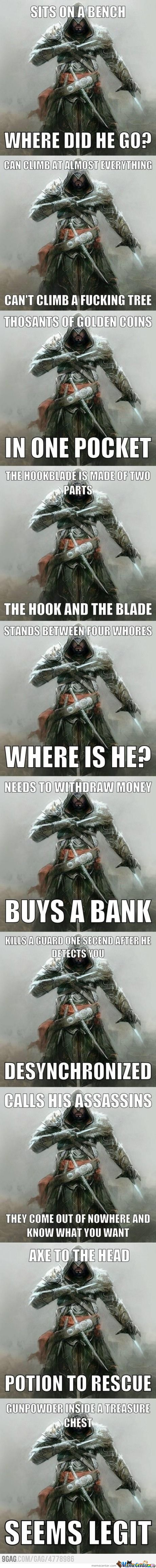 One Does Not Simply Finds Logic In Ac. ....