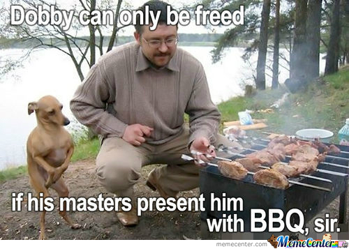 One Does Not Simply Get Free From Bbq