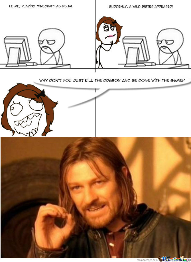 One Does Not Simply Name A Title
