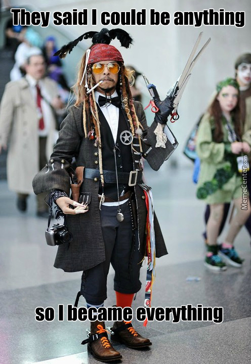One Does Not Simply Pick One Johny Depp´s Character