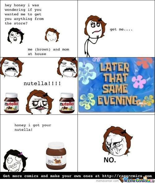 One Does Not Simply Replace Nutella