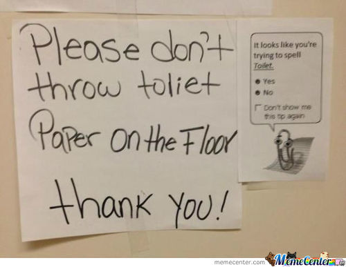 One Does Not Simply, Spell Toilet Wrong