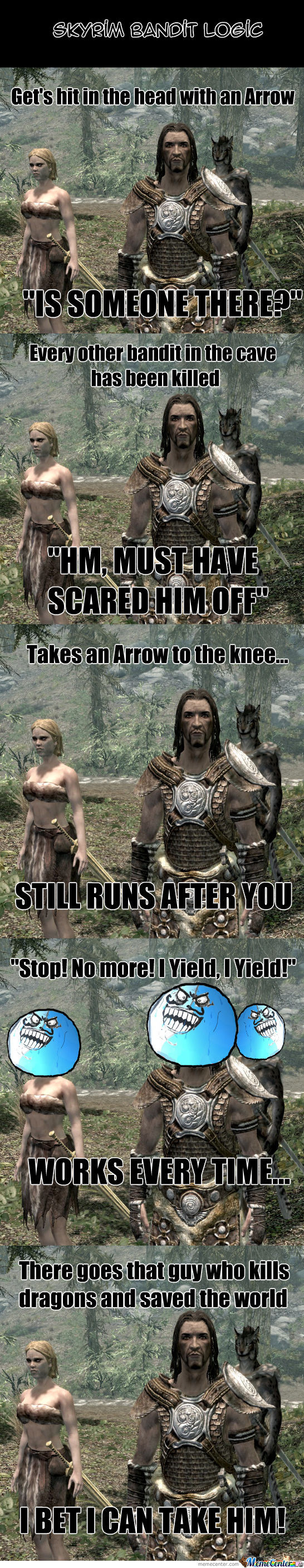 One Does Not Simply, Understand Bandit Logic