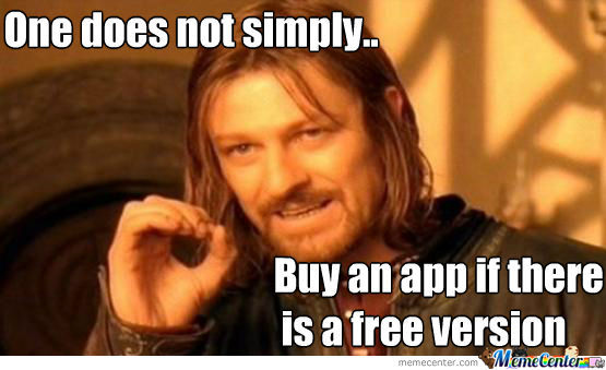 One Does Not Simply..