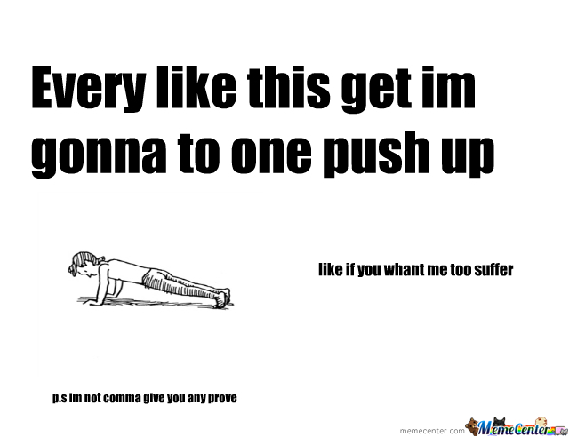 One Like One Push Up