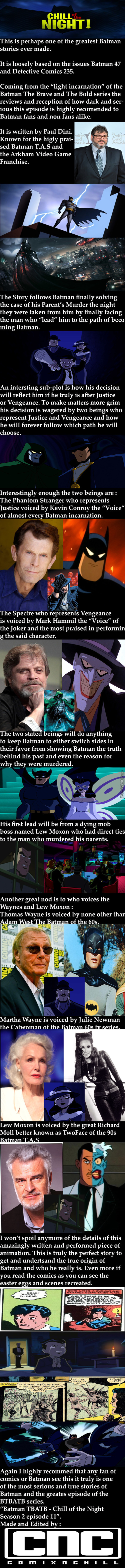One Of The Best Batman Animations Of All Time.