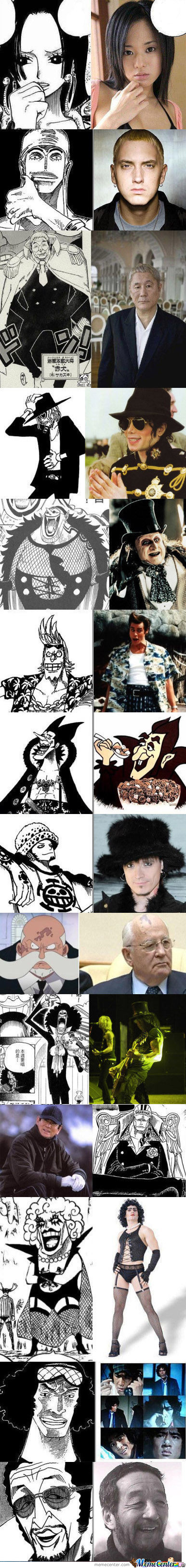 One Piece Look Alikes