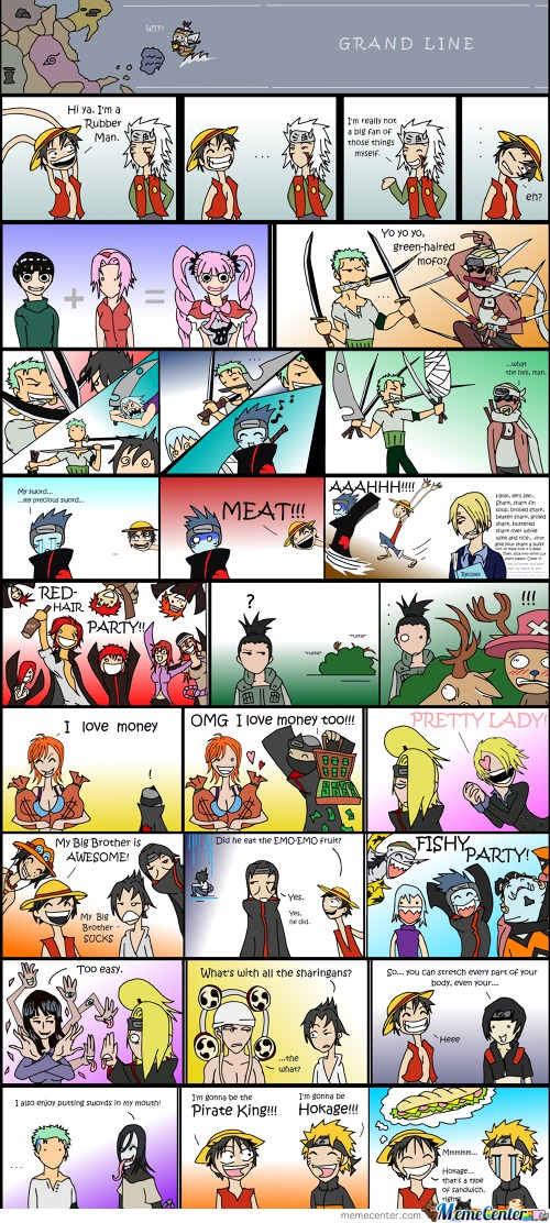 One Piece Naruto