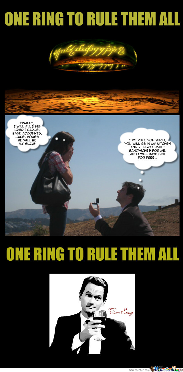 One Ring To Rule Them All... Sure!
