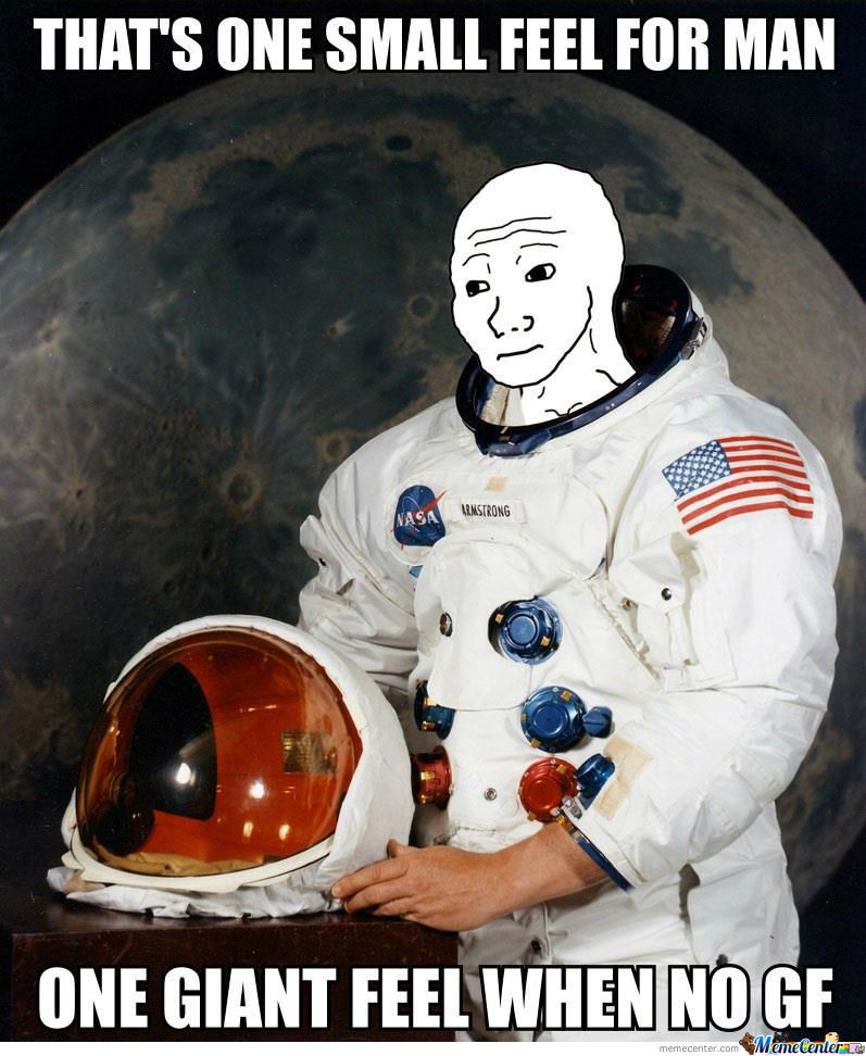 One Small Feel For Man...