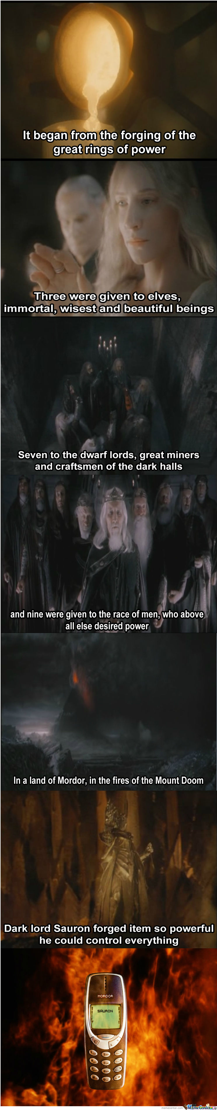 One Thing To Rule Them All