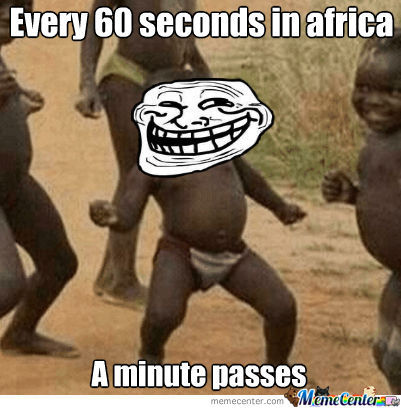 Only In Africa ..