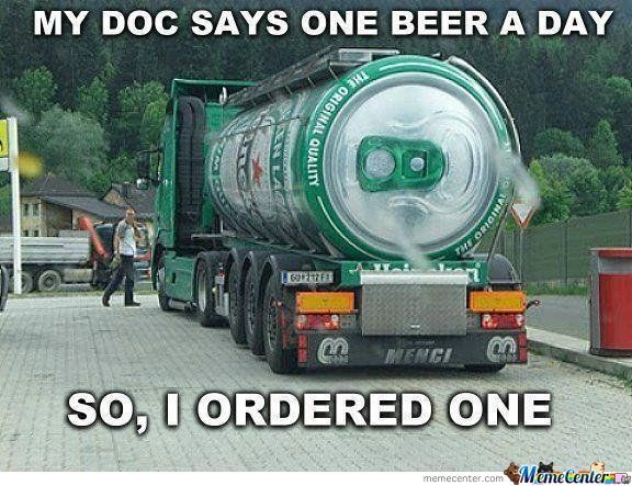 Only One Beer...