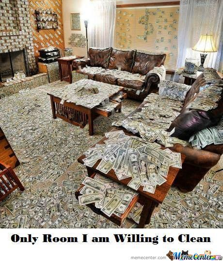 Only Room I Am Willing To Clean