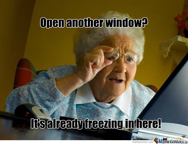 Open A Window?