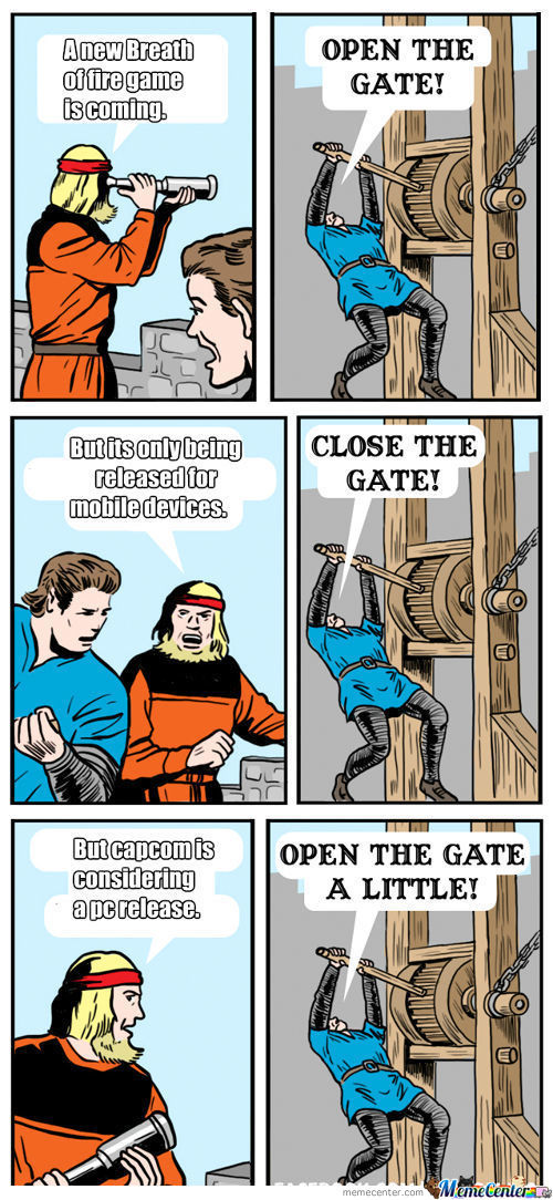 Open The Gate!