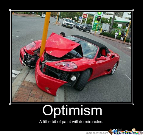 Optimism At Its Best