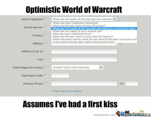 Optimistic Wow Is Optimistic