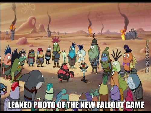 Leaked photo of the new Fallout game
