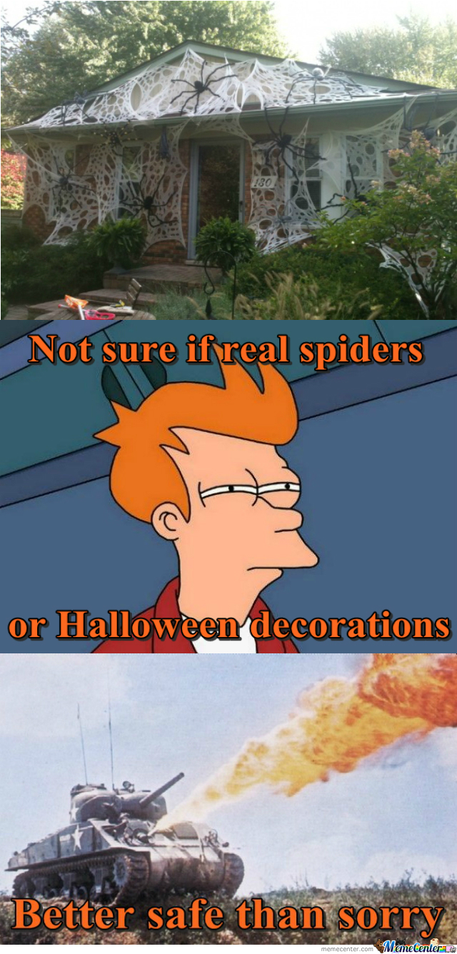 Or Maybe Spider-Man Lives There