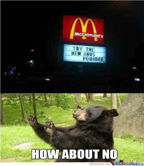 Ordering At Mcdonalds Is A Pain In The Ass