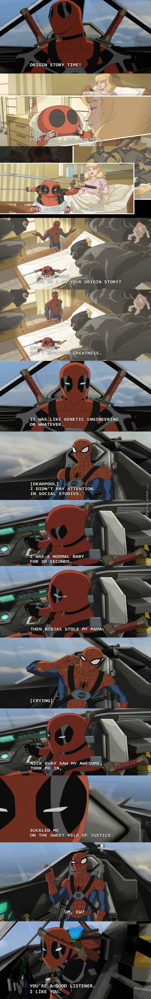 Origin Of Deadpool