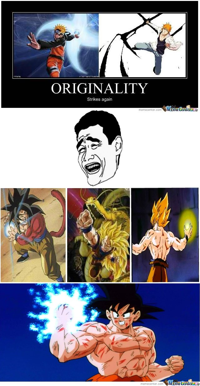 Pics for goku naruto meme - Naruto and dragonball z ...