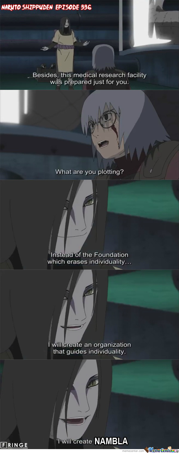 Orochimaru And Kabuto
