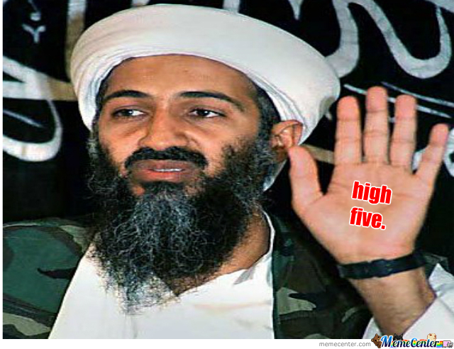 Osama High Five