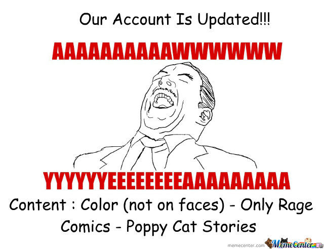 Our Account Is Updated!!!