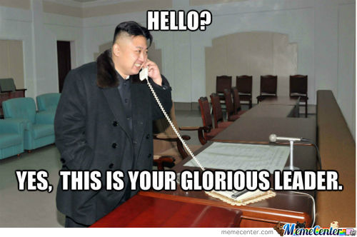 Our Most Fabulous Leader On The Telephone