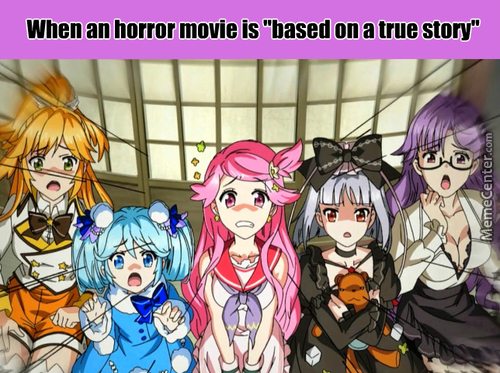 Our Reaction When.. (Anime: Fantasista Doll)