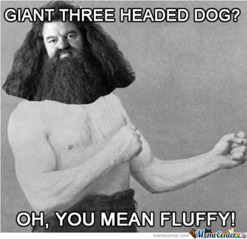 Over Manly Hagrid