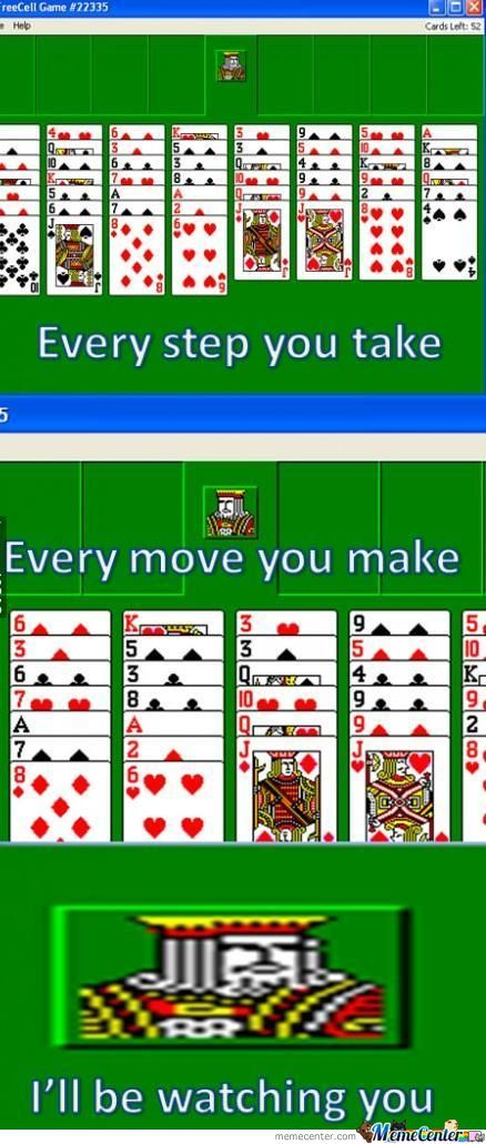 Overly Attached Freecell