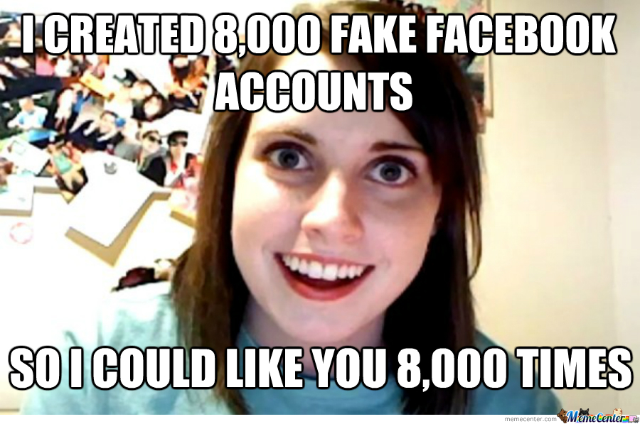 Overly Attached Gf Likes Oh,moresarcasm.
