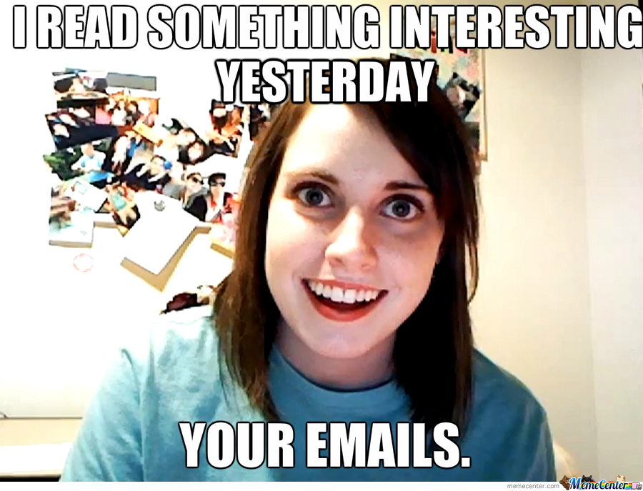 Overly Attached Gf