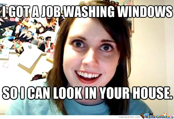 Overly Attached Girlfriend's New Job