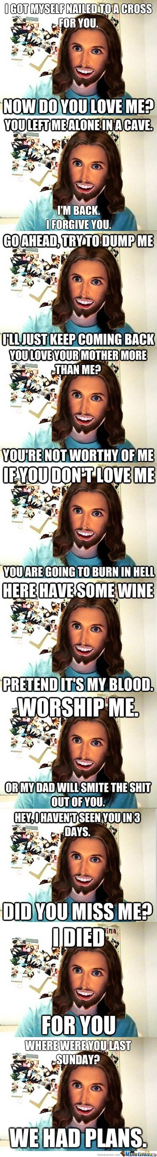 Overly Attached Jesus Compilation