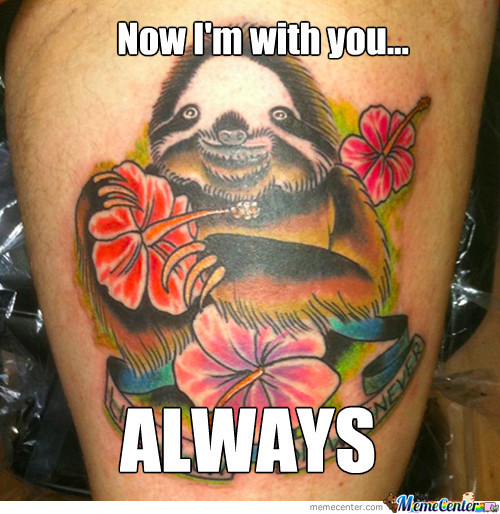 Overly Attached Rapesloth