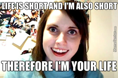 Overly Attached Short Girlfriend