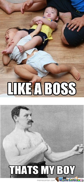 Overly Manly's Son
