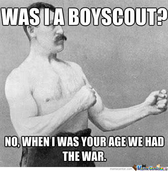 Overly Manly Grandpa