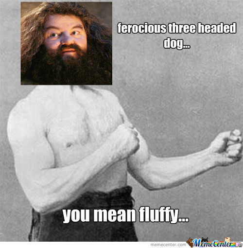 Overly Manly Hagrid