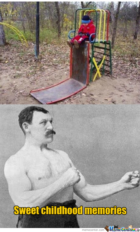 Overly Manly Man's Playground