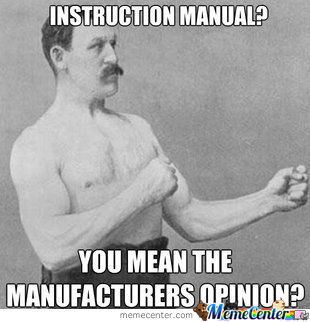 Overly Manly Man At His Best!