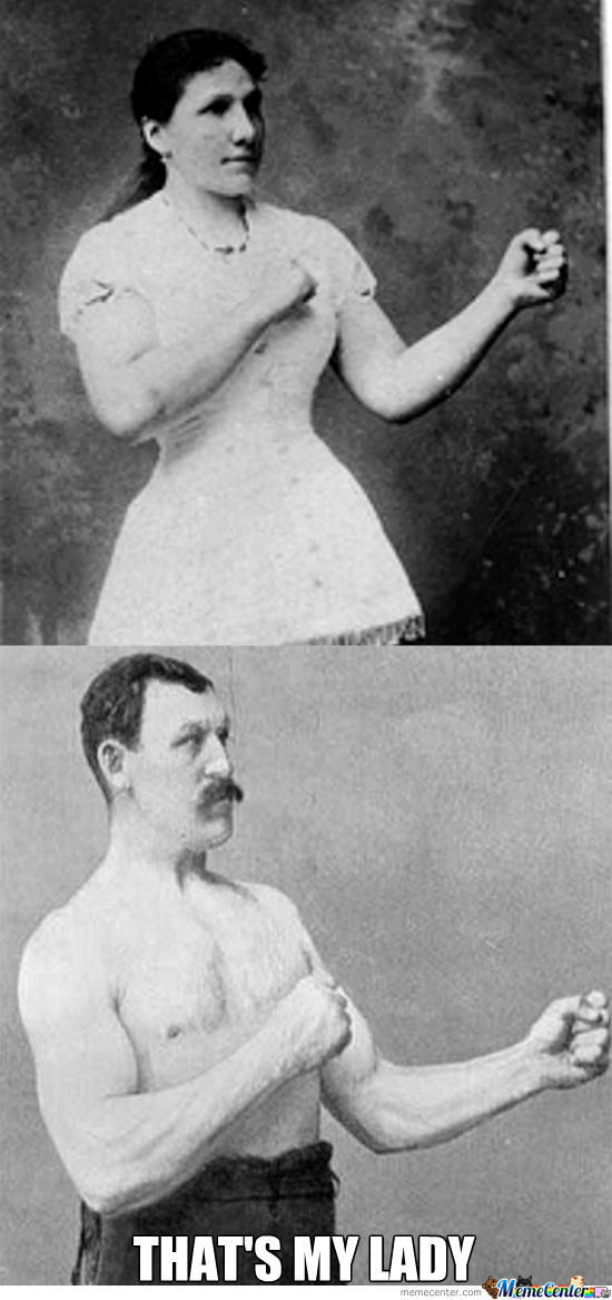 Overly Manly Man Got Laid On The 19Th Century
